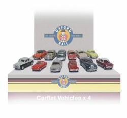 Carflat Car Pack 1960s Cars - Set of 4
