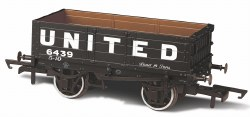 4 Plank Wagon 'United Coliieries' 6439