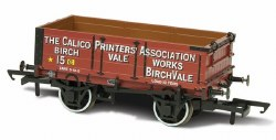 Calico Printers Assn 15 Mineral Wagon 4 plank