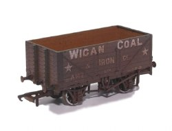 7 Plank Mineral Wagon 'Wigan Coal & Iron Co' (Weathered)
