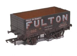 7 Plank Mineral Wagon 'Fulton Coal' Weathered