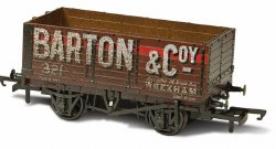 Weathered Barton and Co No. 321 7 Plank Mineral Wagon