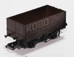 7 Plank Mineral Wagon Kobo Weathered