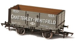 7 Plank Wagon 'Chatterley - Whitfield, Tunstall' 1933