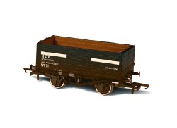 7 Plank Mineral Wagon 'NCB' Internal User Coal Weathered
