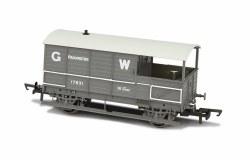 Toad Brake Van AA3 4 Wheel Early GWR Planked 56471 Paddington