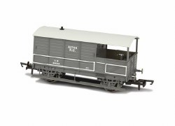 Toad Brake Van AA3 4 Wheel Late GWR Plated 56034 Acton