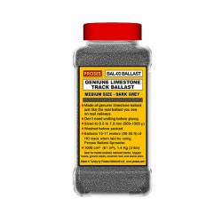 1.4 Kg (3 lbs) Authentic Limestone Ballast HO/OO (Dark Grey)