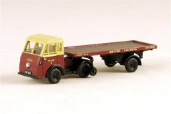 Jen-Helecs & Flatbed Trailer BRITISH RAILWAYS Fleet No YE 30