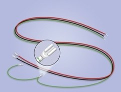 Wiring Loom for Turnout Motor pack of 2