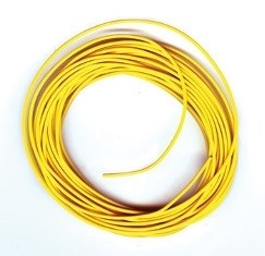 Electrical Wire Yellow 3 Amp 16 strand