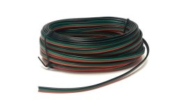 Point Motor Wire (Red, Green & Black) 10m
