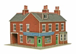 Corner Shops Red Brick