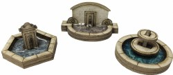 Stone Fountain Set