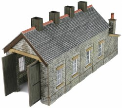 Single Track Engine Shed Stone