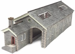 Settle & Carlisle Station Goods Shed