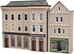 Bank & Shop in Low Relief