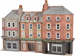 Pub & Shops, Low Relief