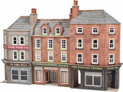 Pub & Shops, Low Relief