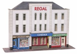 OO/HO Gauge Low Relief Cinema and Shops