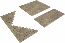 OO/HO Gauge Self Adhesive Paving Slabs