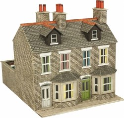 OO/HO Gauge Stone Terraced Houses Kit