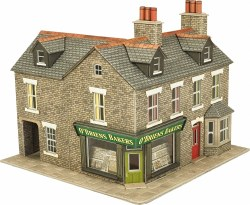 OO/HO Gauge Stone Corner Shop Kit
