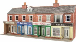 Low Relief Red Brick Shop Fronts Kit