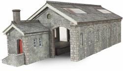 Settle Carlisle Railway Station Goods Shed