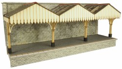 Wall Backed Platform Canopy