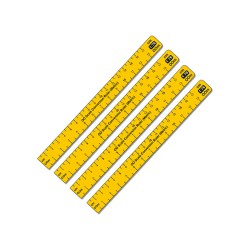 1:76 Scale Conversion Ruler (Metric) OO