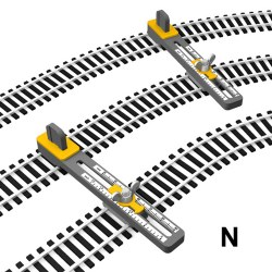 N Scale Adjustable Parallel Track Tool