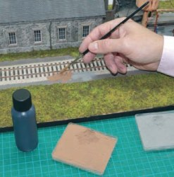 Steam Track Bed Weathering Kit