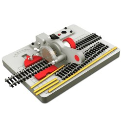 Model Train Track & Metal Rod Cutter w/Adapter (New with CE)