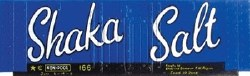 Salt Shaka blue