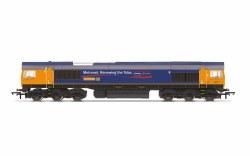 GBRf, Class 66, Co-Co, 66721 'Harry Beck' - Era 11