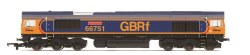 GBRf Class 66 'Inspiration Delivered - Hitachi Rail Europe'