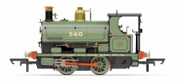 Peckett W4 0-4-0ST Peckett Works Livery 560/1893