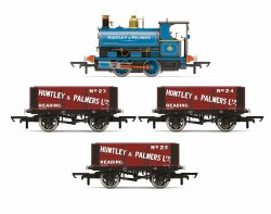 Huntley & Palmers, Peckett W4 Works Freight Pack - Era 2 - Limited Edition