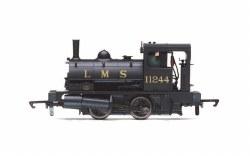 LMS Class 21 'Pug' 0-4-0ST 11244