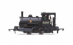 BR Class 21 'Pug' 0-4-0ST 51207