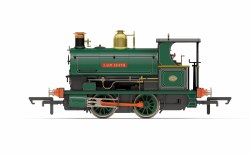 PO Earl of Dudley's Round Oak Works Peckett W4 Class (Open Back Cab) 0-4-0ST 'Lady Edith'