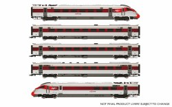 LNER Hitachi IEP Bi-Mode Class 800/1 'Azuma' Five Car Train Pack