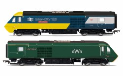 GWR, Class 43 HST, Power Cars 43002 'Sir Kenneth Grange' and 43198 - Era 11