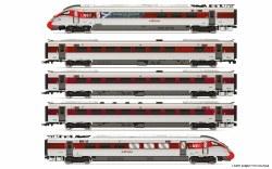 LNER, Hitachi Class 800/1, 'Azuma' Set 800 104 'Celebrating Scotland' Train Pack - Era 11