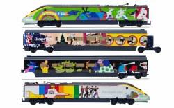 Eurostar, Class 373, Set 3005/3006 'Yellow Submarine' Train Pack - Era 9