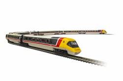 BR, Class 370 Advanced Passenger Train, Set 370 001 and 370 002, 7-car pack - Era 7