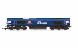 PD Ports, Class 66, Co-Co, 66109 'Teesport Express' - Era 11