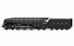 LNER, Class W1 'Hush Hush', 1935 (Double Blast Pipe), 4-6-4, 10000 - Era 3
