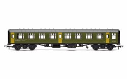 BR Departmental, ex-Mk1 SK Ballast Cleaner Train Staff Coach, DB 975805 - Era 7